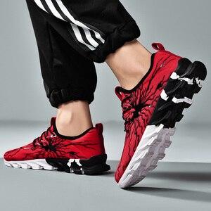 Image 3 - New Clunky Sneaker Women Shoes Thick Bottom Leisure Shoe Shoes Woman Walking Footwear Zapatillas Mujer Deportiva Plus Size 45 46