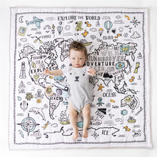 Baby Play Mat Toys Kids Rug Developing Carpet Baby Room Crawling Pad Folding Mat Baby Drop-proof Carpet Air conditioning Quilt 145 195cm baby crawling mat thickening children folding mat living room carpet climbing mat can be machine washed for baby gift