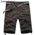 4 COLOR  2017 Summer Men's Work Casual Bermuda Shorts Men Fashion  Overall Trousers Multi Pocket Beach Short 38z