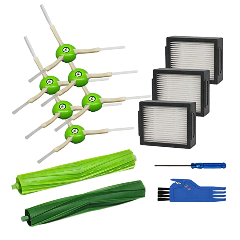 13pcs//Set Cleaner Parts Accessory Brushes For IRobot Roomba 600 Series 664 615