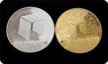 Невалютная Виртуальная металлическая памятная монета, виртуальная Биткоин, памятные монеты, Настраиваемые медальоны, подарки