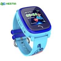HESTIA Su Geçirmez DF25 Çocuklar Akıllı İzle GPS WIFI SOS Çağrısı akıllı Bebek Konumu Cihazı Tracker Çocuklar Güvenli Anti-kayıp Monitör PK q50
