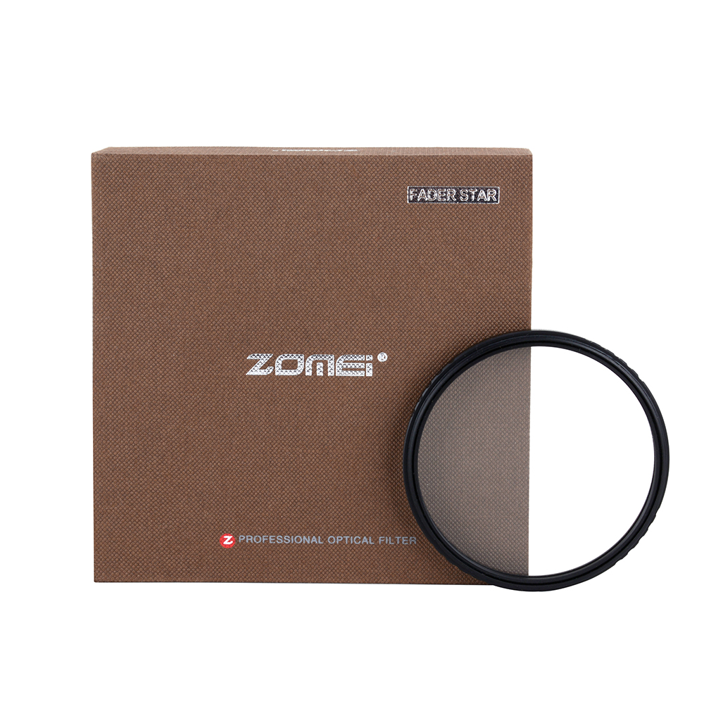 Zomei ABS Fader Star Line Star Filter 4 6 8 Piont Filtro Camera Filters 52 58 67 72 77 82mm For Canon Nikon Sony DSLR Camera