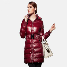 2017winter coat women Down jacket cotton ladies in the long section  thickening polished material Europe  knee big winter jacke