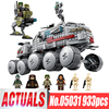 LEPIN 933Pcs Star Wars Clone Turbo Tank 75151 Building Blocks Compatible With Lepin STAR WARS Toy