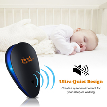Enhanced Version Electronic Cat Ultrasonic Anti Mosquito Insect Repeller Rat Mouse Cockroach Pest Reject Repellent