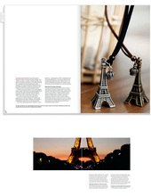 Fashion Eiffel Tower Pendant Necklace Retro Gold Long Chain Crown Charm Necklaces Pendants Women Jewelry Wedding Gift stylish eiffel tower pendant necklace for women