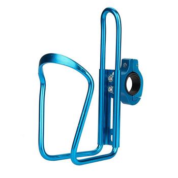 Wysokiej jakości aluminiowy uchwyt na rower górski tanie i dobre opinie TYUI Bicycle Bottle Holder 2u (90-94g) Blue silver red black about 97g Aluminum alloy 22 2mm 12 5*6 5*3cm