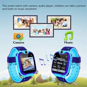 Image 5 - KG10 音楽スマートウォッチ子供カメラ電話の子時計カラータッチスクリーン sos スマートベビーウォッチゲームをプレイ音楽再生時計