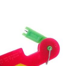 1 unidad enhebradora de ancianos guía de herramientas de uso de aguja dispositivo fácil costura automática de hilo AA8526