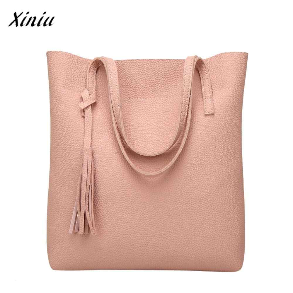 7f220770f320 Detail Feedback Questions about USPS XINIU Best Selling Women's Crossbody  Bag Clips Colors Casual Large Capacity Shoulder Bag Tassel Bucket Bag  Fashion ...
