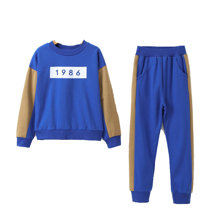 2018 spring autumn children Baby Girls Clothing Set Kids Sport Suits for Girls Cotton Children Tracksuits T-Shirt Set Costumes autumn children boys girls clothing set toddler blue starry sky print clothes kids sport suits hoodies and pants 2pcs tracksuits
