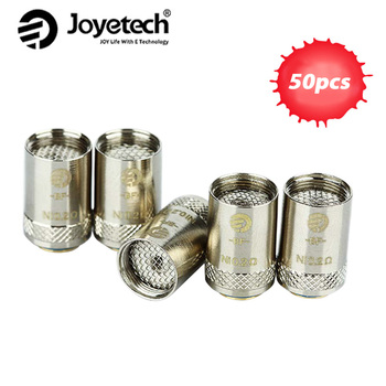 50pcs Joyetech Cubis/ EGO AIO Coil BF Head 0.2ohm/0.5ohm/0.6ohm/1.0ohm/1.5ohm Core BF Replacement Coil Head 100% Original