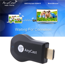 Anycast M2 Plus Wireless TV Stick Wifi Display Receiver 1080P Display HDMI Dongle TV Stick for iPhone Android Tablet PC 256M