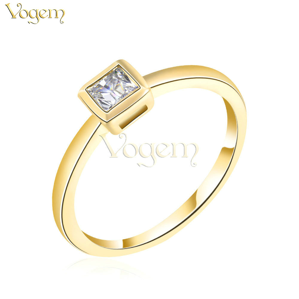 vogem 2017 classic simple 05ct rings for women elegant wedding rings online shopping from india - Online Wedding Rings
