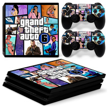 Grand Theft Auto 6 PS4 Pro Skin Sticker Cover Decal