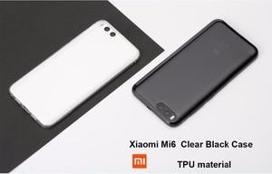 Image 2 - Originele Xiao mi mi 8 case xiao mi Mi 8 se clear back COVER Mi A2 soft tpu beschermende CAPAS Mi 6X telefoon fundas black case mi A2