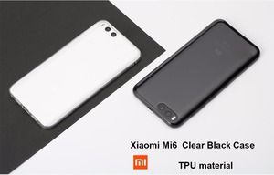 Image 2 - Оригинальный чехол для Xiaomi mi8, прозрачный чехол для Xiaomi mi 8 SE, Мягкий защитный чехол из ТПУ для MI A2, чехлы для телефонов MI 6X, черный чехол для MI A2