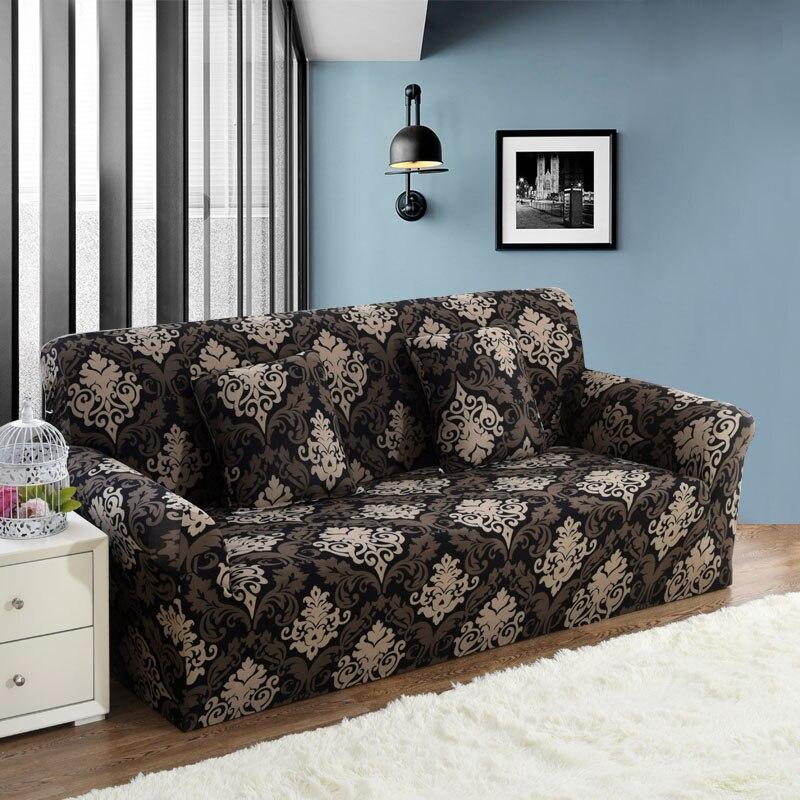 1 PC Elastische Sofa Engen Wrap All-inclusive Slip-beständig Sofa Abdeckung Elastische Sofa Handtuch Single/Zwei /drei/Vier-sitzer