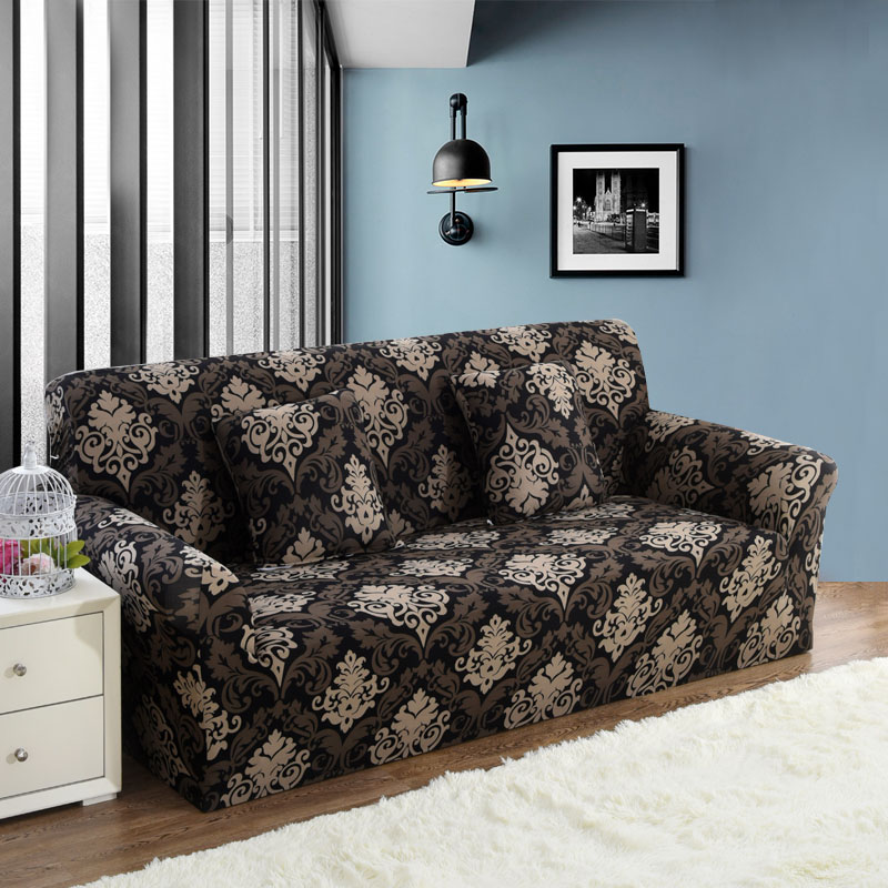 1 шт. упругий диван Tight Обёрточная бумага все включено скольжению диван крышку упругий диван Полотенца один/два /три/Четыре местный