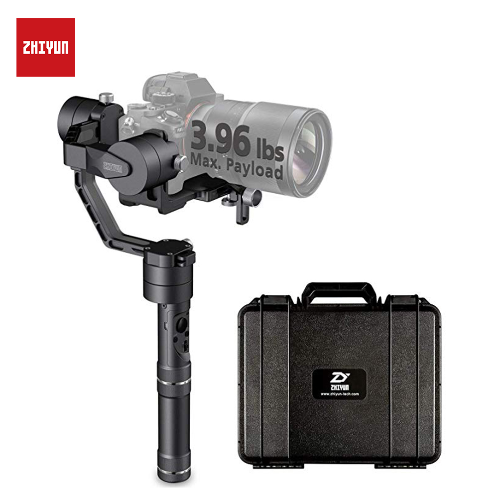 ZHIYUN 3 Axis Stabilizer for Camera, Crane V2 Gimbal 360 Degree Panoramic Shots for dslr accessories handheld selfie stick