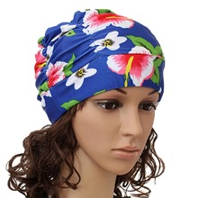 Screaming Retail Price Sexy Women Girls Long Hair Swim Cap Stretch Hat Drape Bathing Swimming Cap