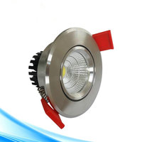 Wholesale HOT Sale High Power 10W COB LED Dimmable Downlight 10W LED Ceiling Lamp 50pcs Lot