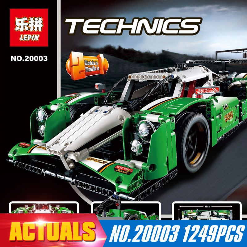 ФОТО NEW LEPIN 20003 technic series 1249pcs All weather vehicle car Model Building blocks Bricks Compatible 42039 Toy Christmas Gift