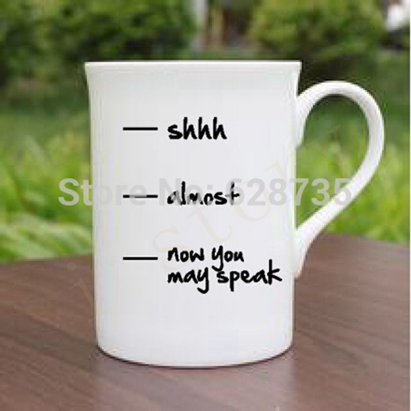 Coffee Cup Sticker Creative Funny Personalized Decal Home Decorators Catalog Best Ideas of Home Decor and Design [homedecoratorscatalog.us]