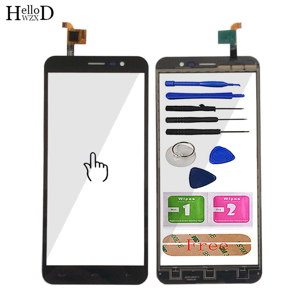 5.5inch Touch Screen For <font><b>Homtom</b></font> <font><b>S16</b></font> Touch Screen Glass 100% Guarantee Glass Panel For <font><b>Homtom</b></font> <font><b>S16</b></font> Touch Panel Tools Adhesive image