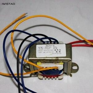 Image 1 - Трансформатор мощности IWISTAO 15 Вт EI для трубчатого предусилителя 150 в/20 мА 6,5 В/1 А аудио HIFI DIY