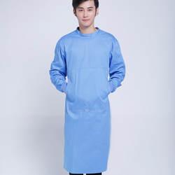 Профессиональный Для мужчин хлопок зеленый хирургический медицинских работников одежда с длинными рукавами врачи мундиры Транс