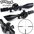 WALTHER FT 8-32X56 Jacht Riflescopes Mil Dot Richtkruis Grote Side Wiel Parallax Aanpassing Schieten Scope met Zwaluwstaart Ringen