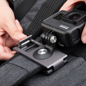Image 4 - In Stcok PGYTECH For DJI OMSO Pocket 2 Action Camera Strap Holder L Bracket Rotatable Mount For OSMO POCKET Handheld Gimbal
