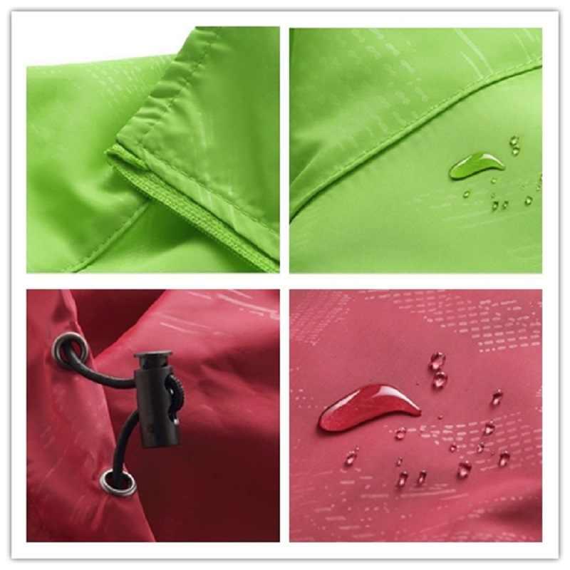 Новинка 2017, мужские и женские повседневные куртки, ветрозащитная Ультралегкая куртка, Мужская армейская ветровка, быстросохнущее кожаное пальто