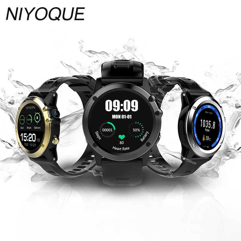 NIYOQUE New style Smart Watch H1 Android System 5.1 Positioning Dual-Core Ip68 Waterproof Smart Watch high quality fashion smart new lf17 smart watch
