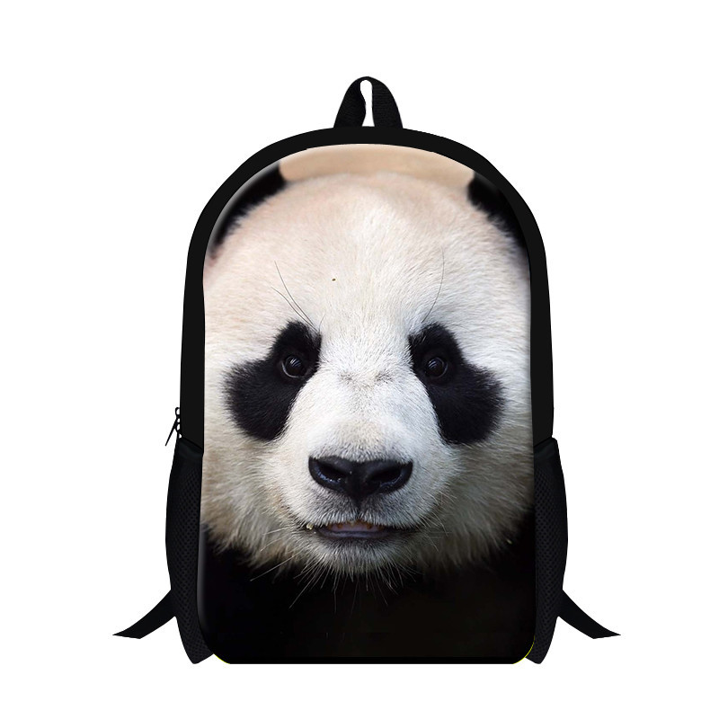 Panda Animal Backpack Panda Print Kids School Backpack Children School Bags