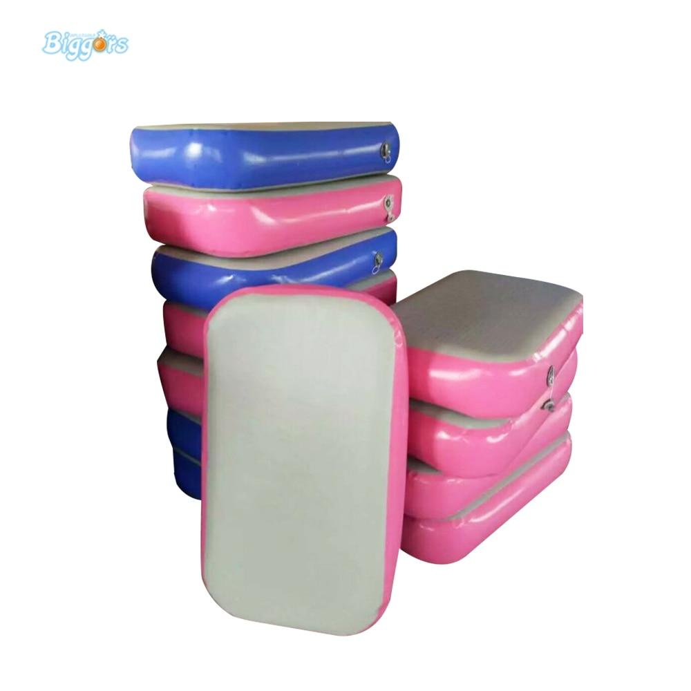 Tapis gonflables de gymnastique de tissu de point de chute de la voie 2m de dégringolade d'air