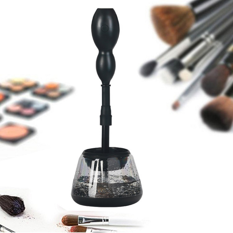 Professional Electric Makeup Brushes Washing Cleaner Dryer Machine Automatic Brush Cleaner make up Brush Cleaning Tools 5 Color цена