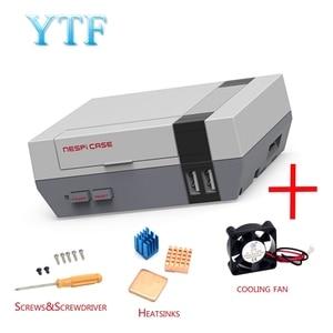 Image 2 - Funda de gran calidad para Mini NES nesp, con ventilador de refrigeración diseñado para Raspberry Pi 4 3 / 2 / B +