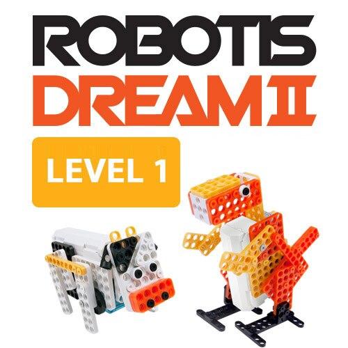 Robotis Montagem Elétrica Robô Crianças Enigma Toy Desenvolvimento Sonho Nível 1