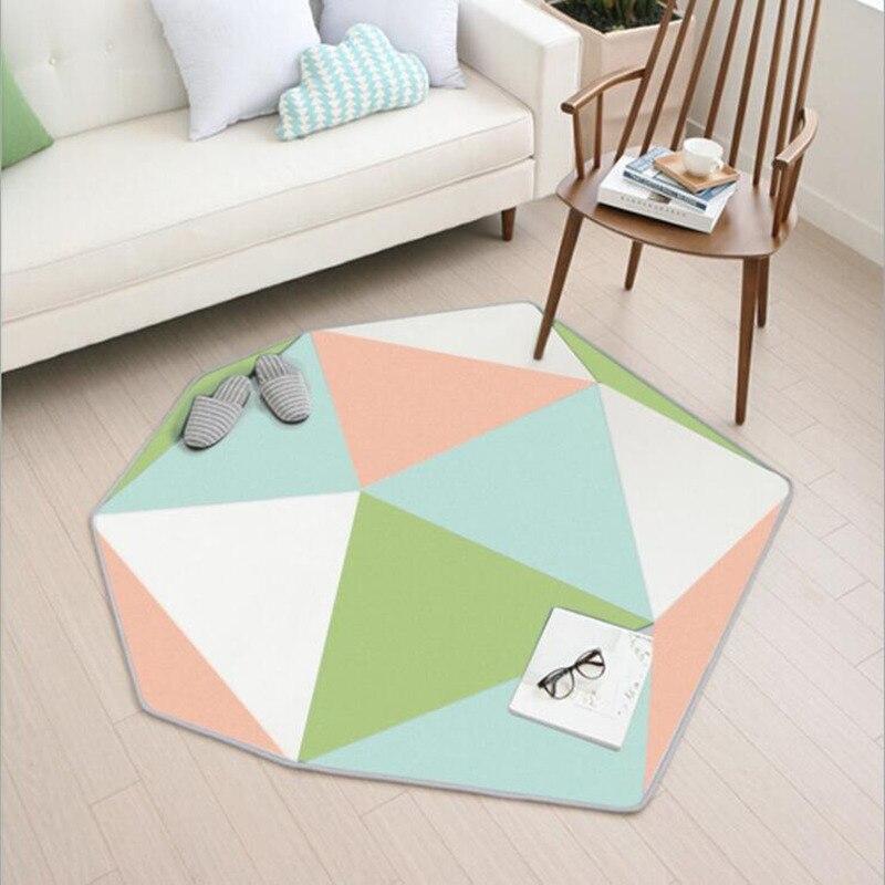 Tapis irréguliers mous pour l'entrée/couloir paillasson chambre tapis tapis ordinateur chaise tapis tapis maison couloir paillasson tapis