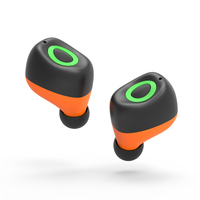 New 2017 Twins Wireless Earphones With Microphone Sport Stereo Bluetooth 4 2 Headset For MP3 Samsung