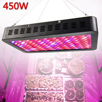 450W Reflector LED Grow Light Panel Full Spectrum Veg Bloom Hydroponics Indoor Lamp for Grow Box For Garden Plant Growing