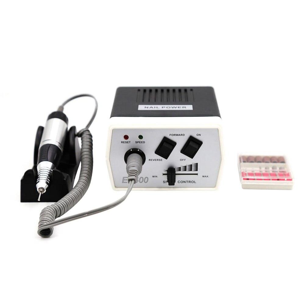 Electric Nail Art Machine Kit 30000 RPM File Drills Bits Tool Set for Manicure Pedicure @ME88Electric Nail Art Machine Kit 30000 RPM File Drills Bits Tool Set for Manicure Pedicure @ME88