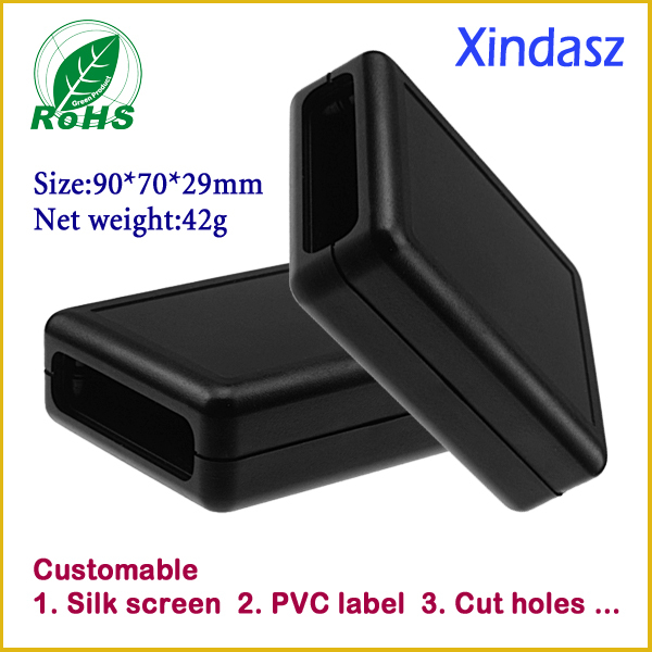 (5pcs/lot)Free shipping 90*70*29mm Black High quality Small Plastic outlet box project enclosure for electrical equipment cacharel cacharel amor amor forbidden kiss туалетная вода спрей 30 мл