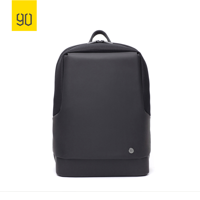 2018 XIAOMI 90FUN Urban Commute Backpack Large Cpacity Water resistant Daypack 15.6 Laptop Bag for women men College Business xiaomi 90fun urban city simple backpack 14inch laptop waterproof mi rucksack daypack school bag learning portable backpacks