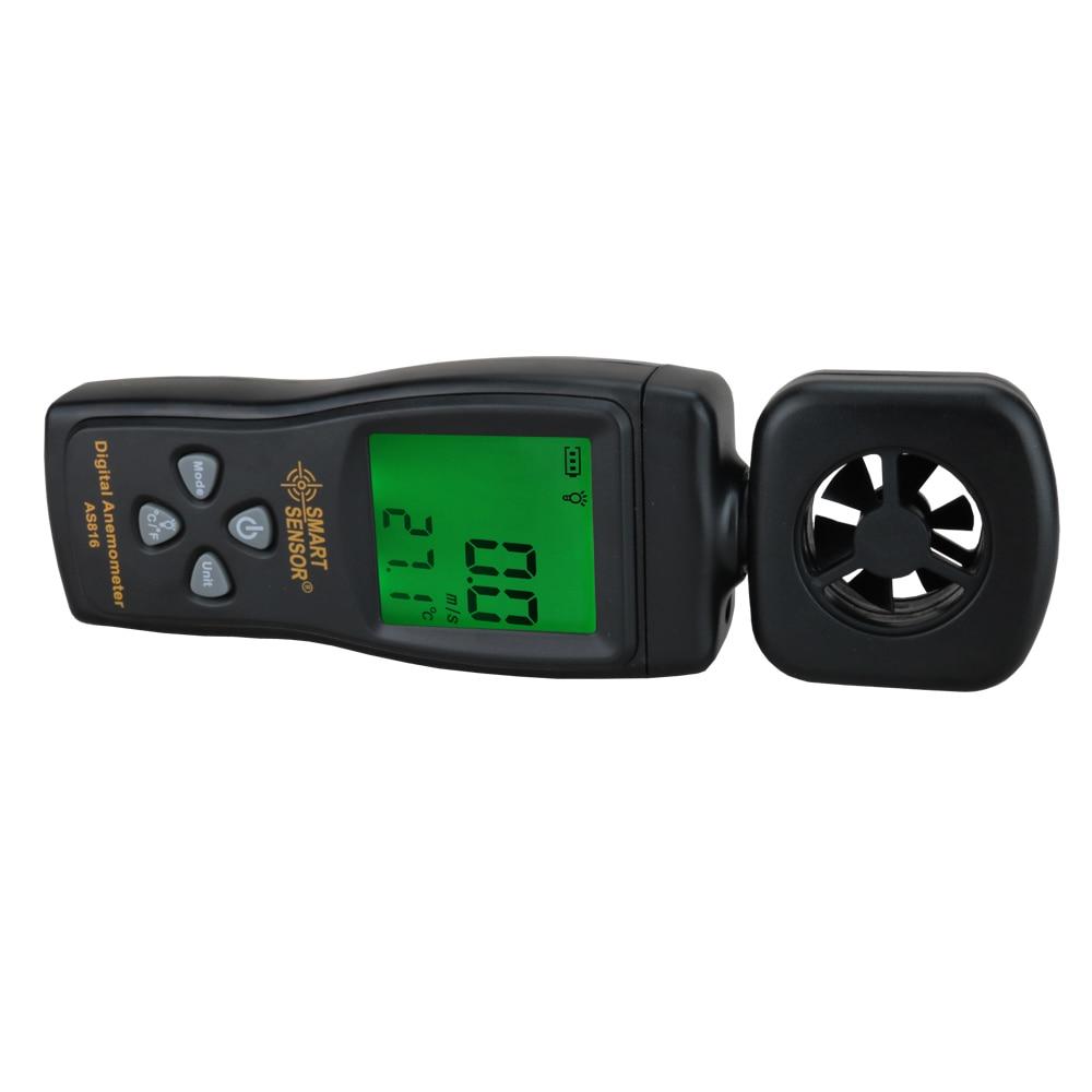 Többfunkciós anemométer LCD szélsebességmérő - Mérőműszerek - Fénykép 3