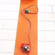 20 л(4,4 галлонов) 200x860x1,6 мм 800 Вт Гибкая Кремниевая лента барабанный нагреватель одеяло масляная бочка для биодизеля электрические провода