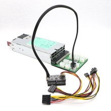 PICO-PSU módulo de potência de 160 watts 24pin atx com conector pci-e 6pin.